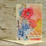 Kartka dla Mamy, kolorowa