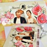 Kartka na rocznicę ślubu, duża ze zdjęciem