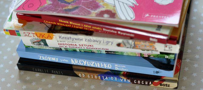 5 dobrych książek o sztuce dla dzieci