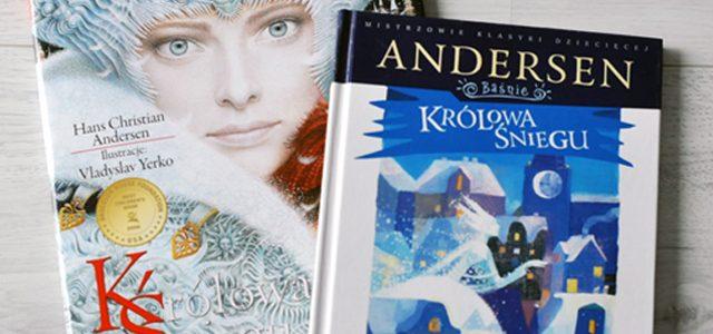 """""""Królowa Śniegu"""" Andersena- kreską czy plamą?"""